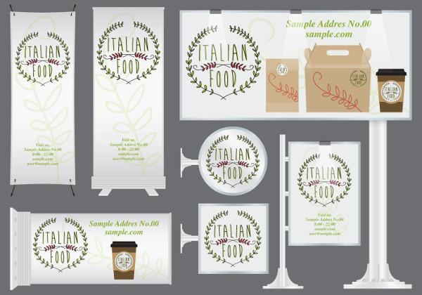 Free Italian Food Banners Download
