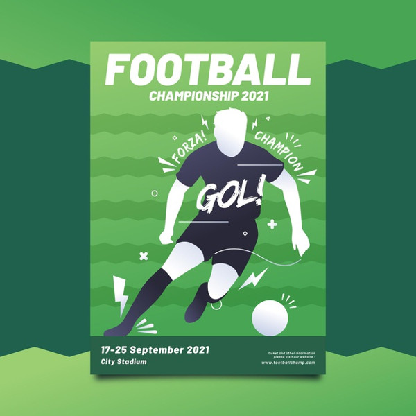 Sporting Event Poster Free Download