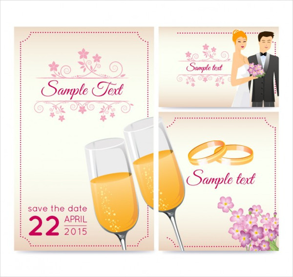 Beautiful Wedding Greeting Card Free Download