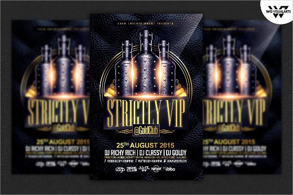 Deluxe VIP Flyer Template