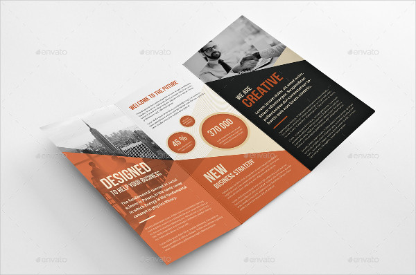 Retro Creative Trifold Brochure
