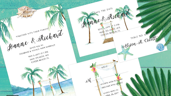 Wedding Greeting Card Templates