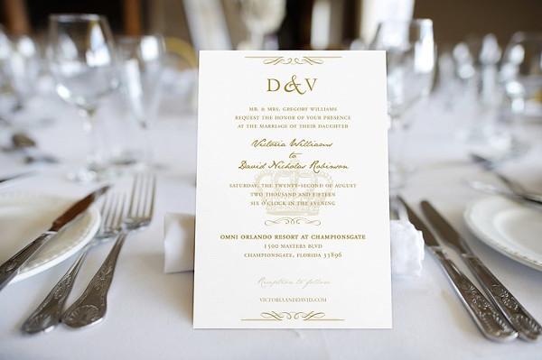 Printable Royal Wedding Themed Invitation Suite