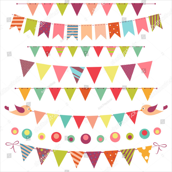 Unique Bunting Banners Design