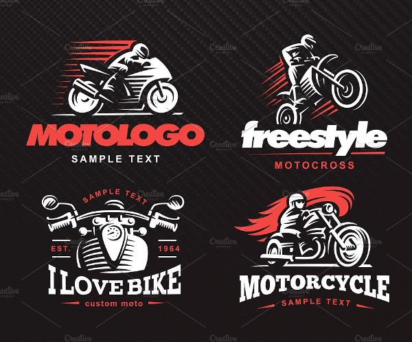 Motorcycle Logos Set