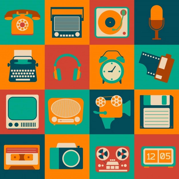 Retro Objects Free Download