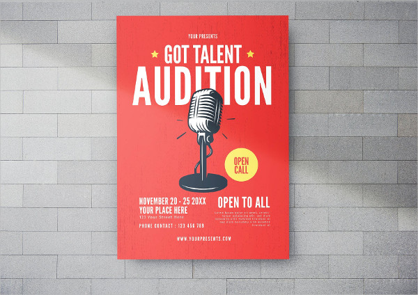 Got Talent Flyer Template