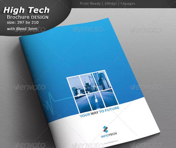 Cool Industrial Brochure Template
