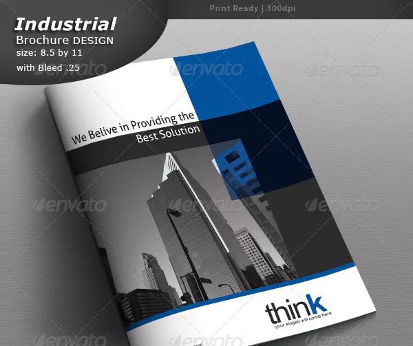 Fully Industrial Brochure Design