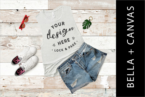 Print Summer Apparel Mockup