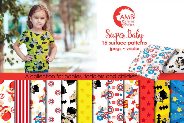 Super Baby Pattern Set