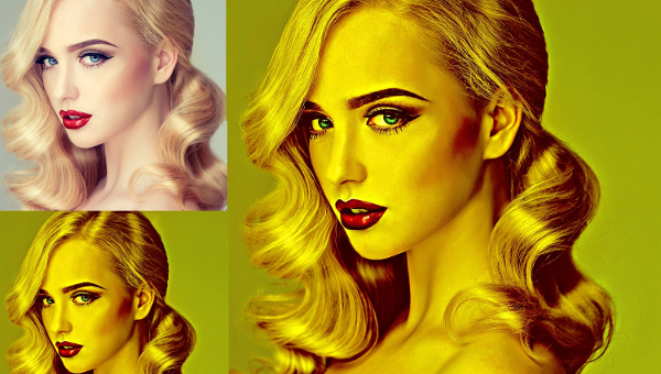 Gold Photoshop Actions