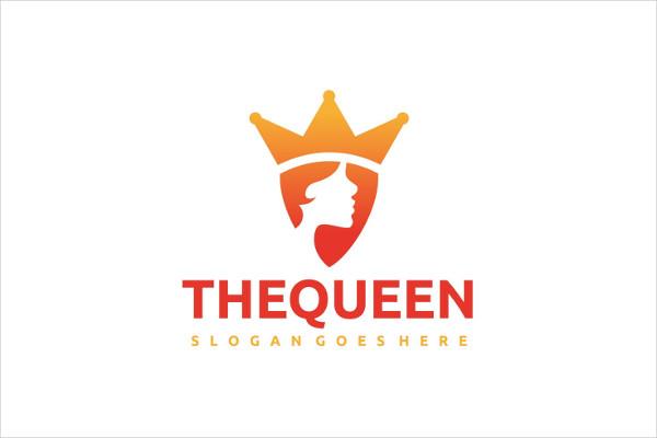 Queen Girl Logo Free Download