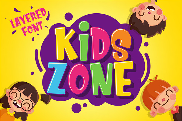 Best Kids Zone Fonts