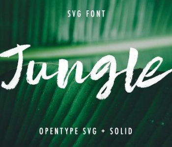Jungle Fonts