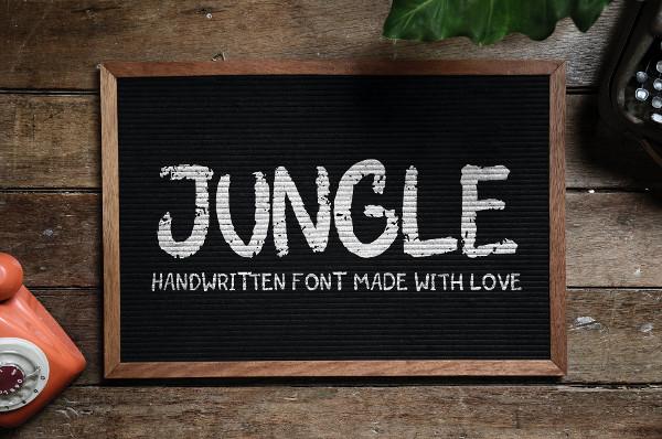 Forest Handwritten Font