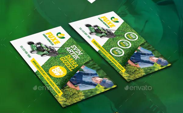 Popular Landscape Business Cards