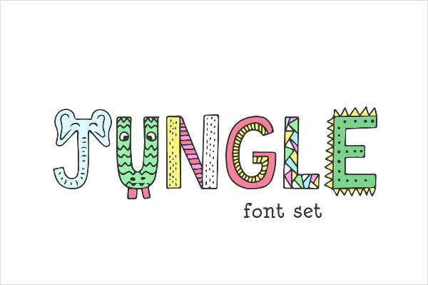 Unique Jungle Font