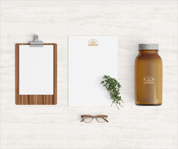 Free Kitchen Products Mockup Download