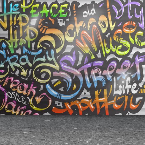 Graffiti Wall Background Free