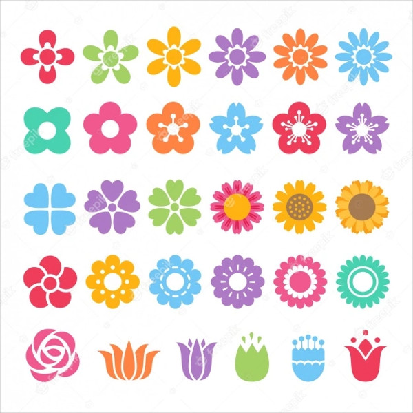 Different Colored Icons Free Download