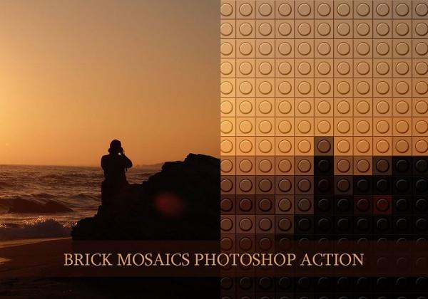 Brick Mosaics PS Action Free Download