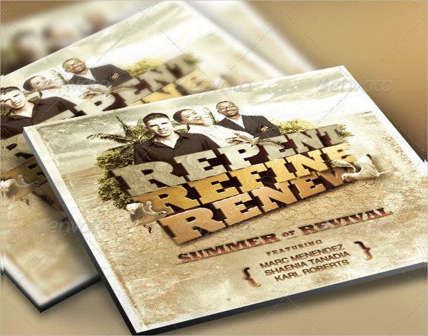 Church Flyer and CD Design