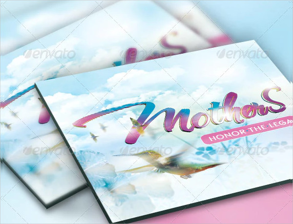 Mothers Legacy Church Postcard and CD Design
