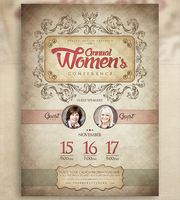 Women`s Conference Design