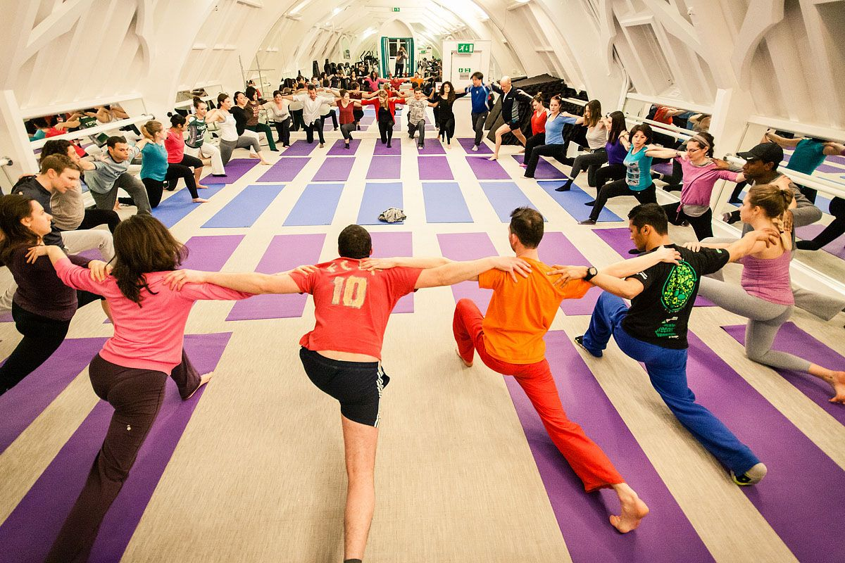 Creative Social Yoga London with Richard Brook