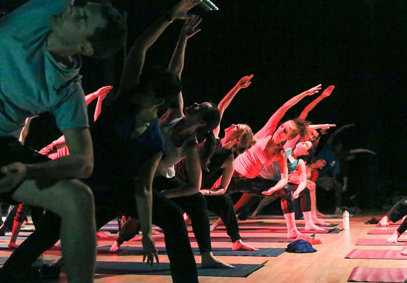 Yoga Rave London with Richard Brook