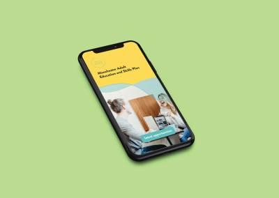 Manchester Council Digital Skills Campaign