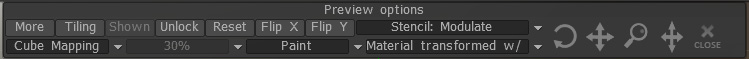 PBR texturing in 3D Coat Tutorial - Floating toolbar on the top