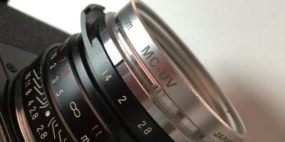 UV filter on Nokton lens