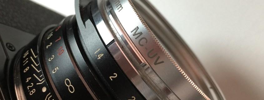 UV filter on Nokton lens
