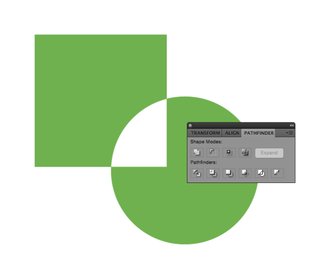 How to combine shapes in Illustrator
