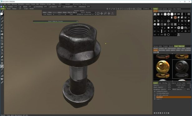 PBR texturing in 3D Coat Tutorial - PBR in 3D Coat looks awesome