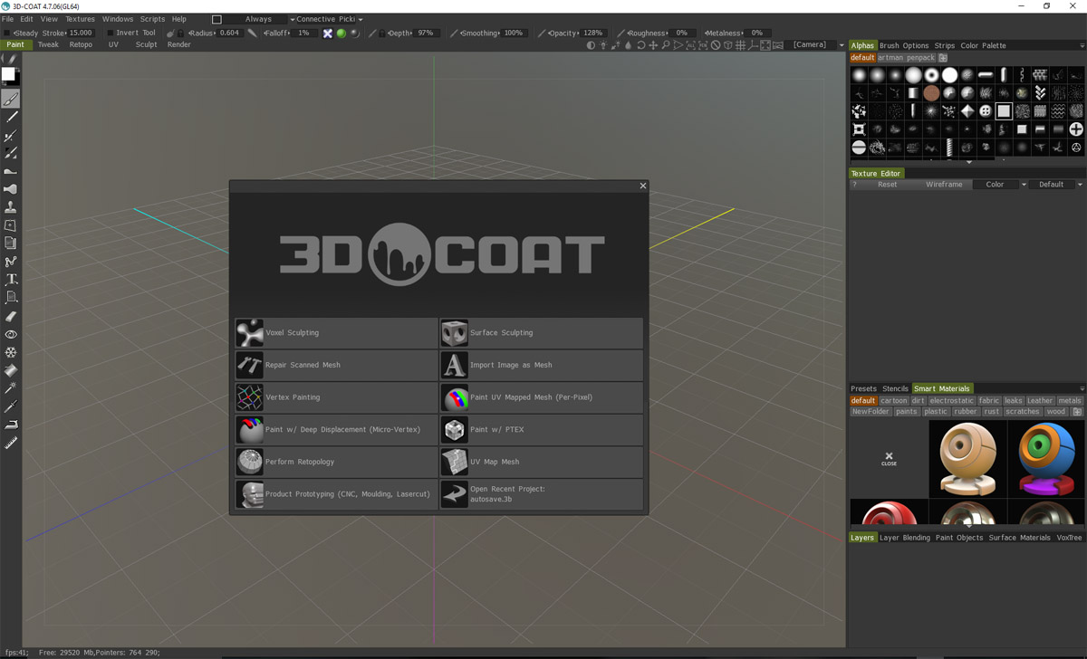 3D Coat Review and Guide 47 PC version 2016