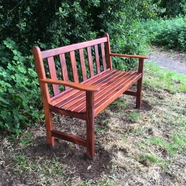 Hardwood garden benches