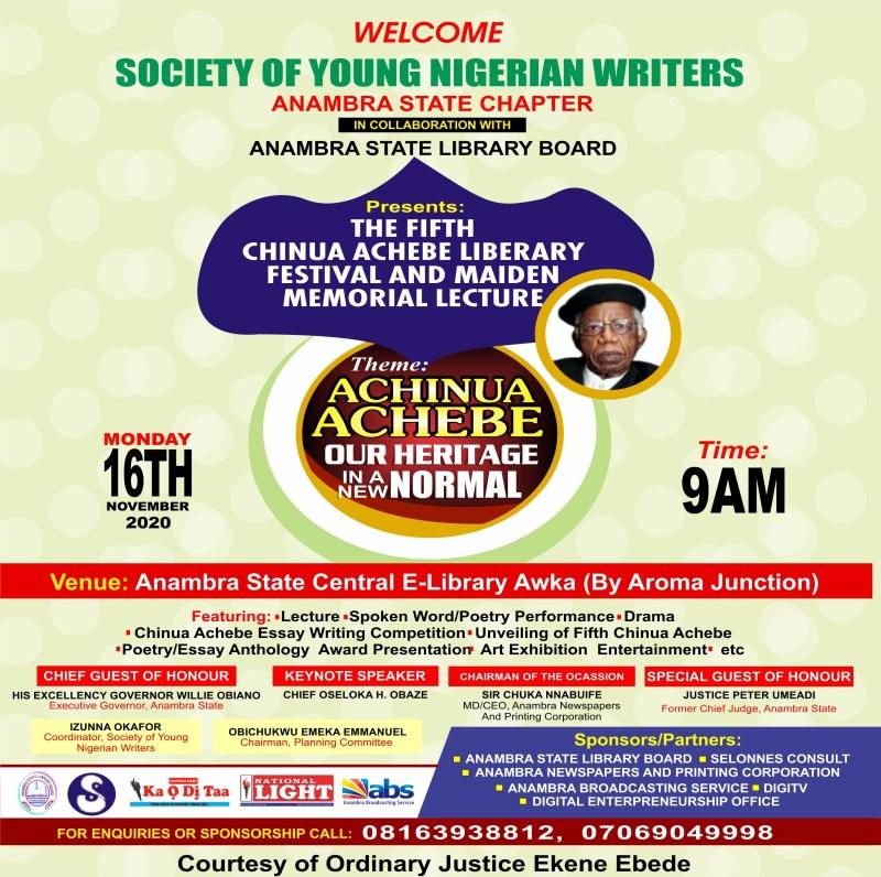 Chinua Achebe Literary Festival,