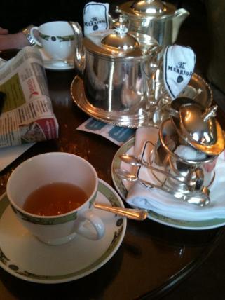 The Merrion Hotel teatime