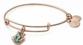 a photo of alex and ani frog prince bangle