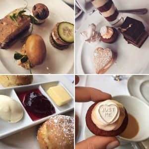 an image of afternoon tea at The G Hotel