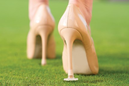 a picture of clean heels heel protectors