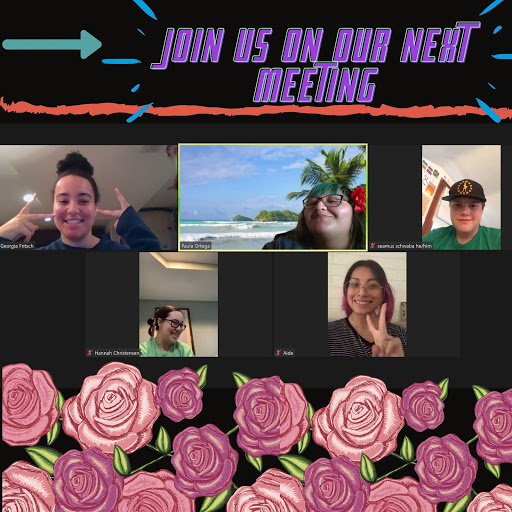 """Graphic that reads """"Join us on our next meeting."""""""