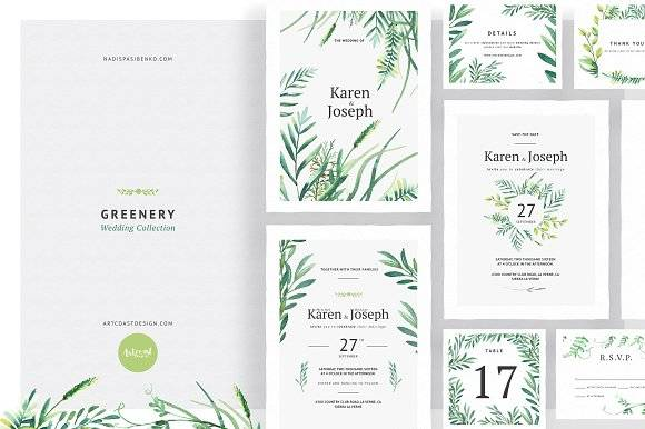 Greenery Wedding Collection