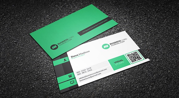 Modern Sophistication Business Card Template