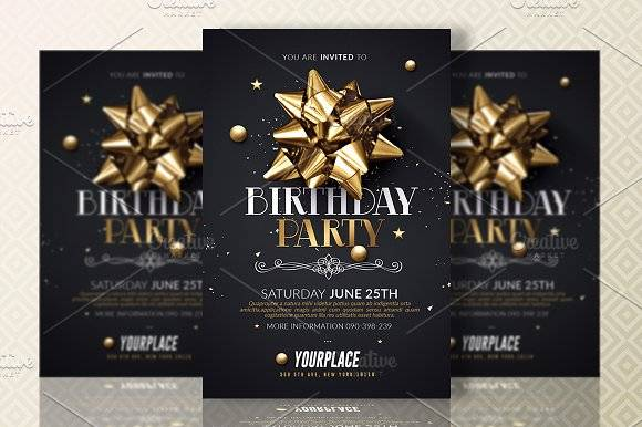 Birthday Party | Invitation Template