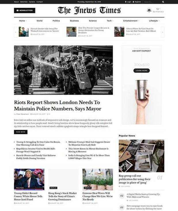 JNews wordpress theme
