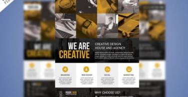 Corporate Business Flyer PSD Free Bundle